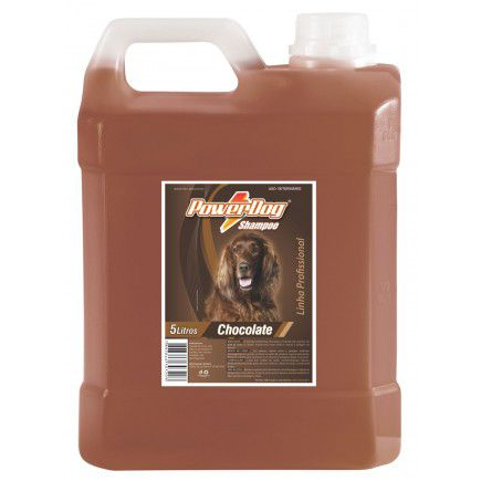 Shampoo Powerdog Chocolate 5 Lts Citrosafe