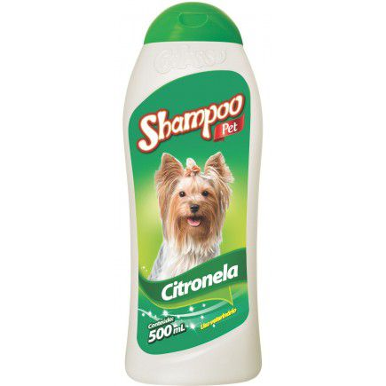 Shampoo Powerdog Citronela 500 Ml Citrosafe