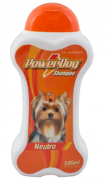 Shampoo Powerdog Neutro 500 Ml