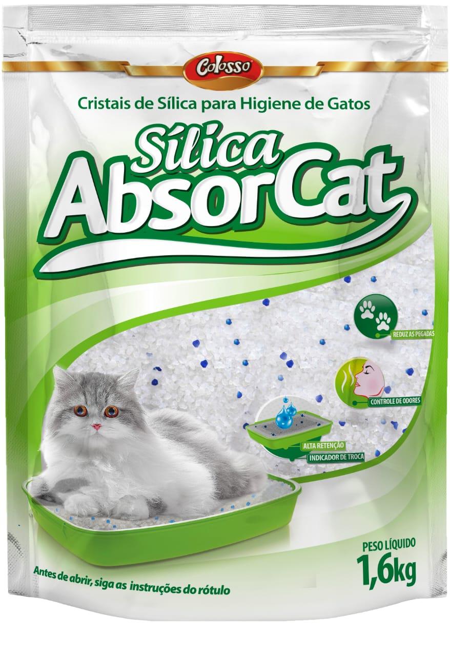 Sílica Absorcat 1,6Kg