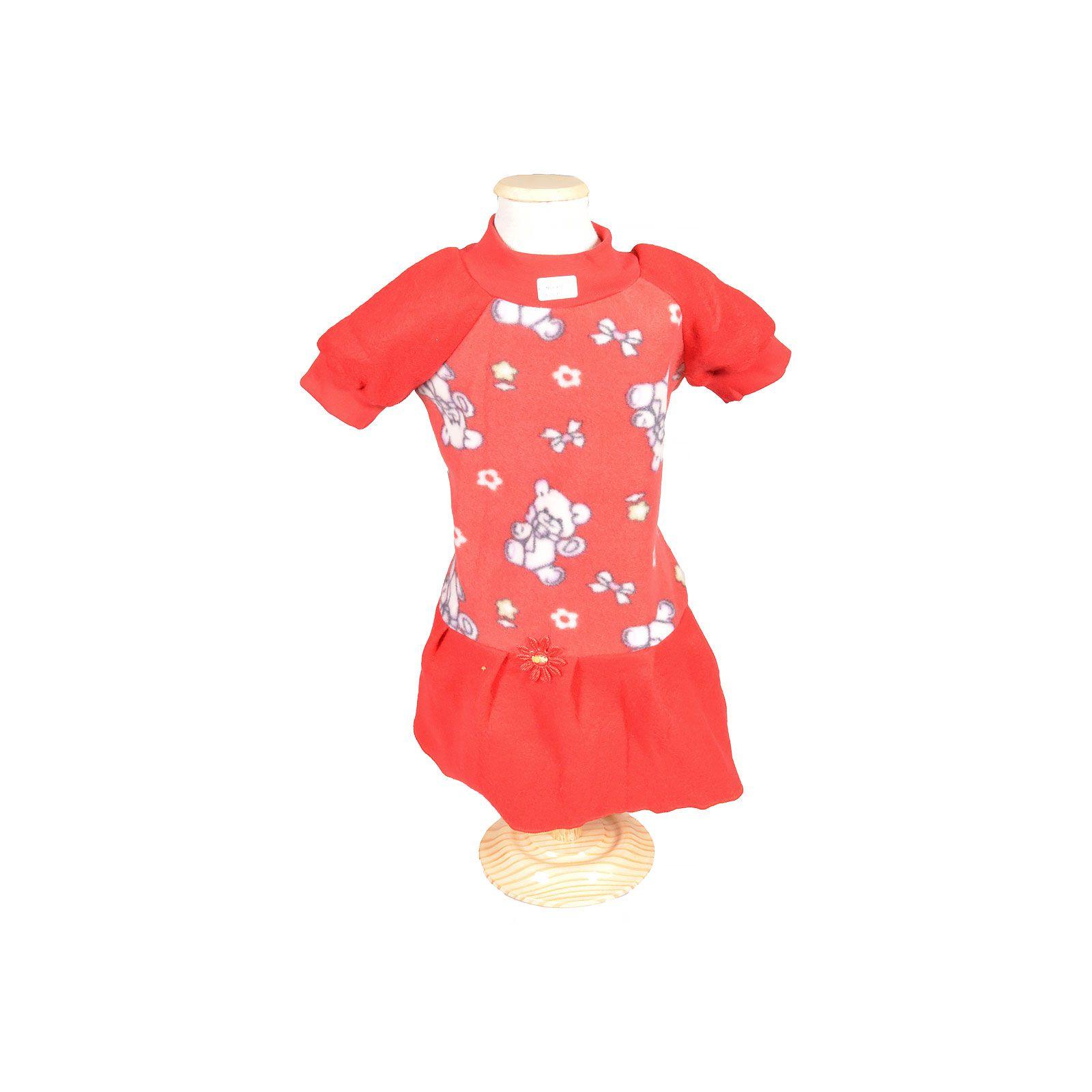 Vestido Soft Vermelho