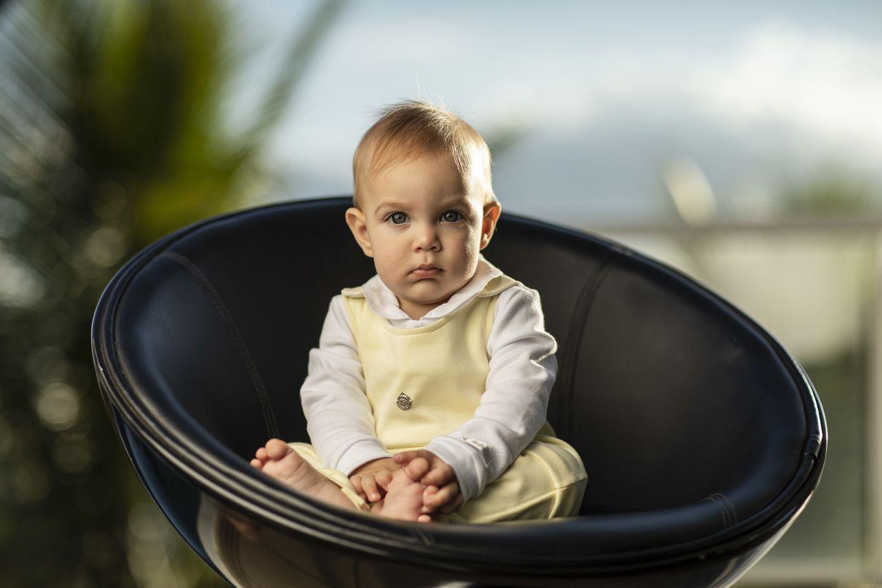 Conjunto Maternidade Unissex Amarelo