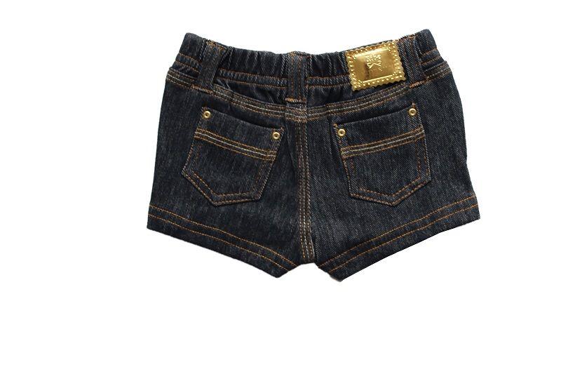 Short Bebê Comfort  Jeans Menina BY BIBE