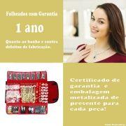 Joias Folheadas Kit Contendo 100 Peças Atacado Para Revenda