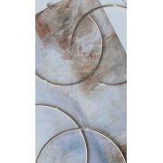 Brinco Argola Grande 8,5 cm Folheado a Prata 1000