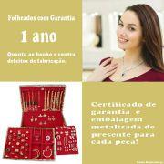 Kit Atacado Maleta + 100 Peças Folheadas - Promoção do mês