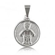 Pingente Medalha 1 Menino Folheado a Prata 1000