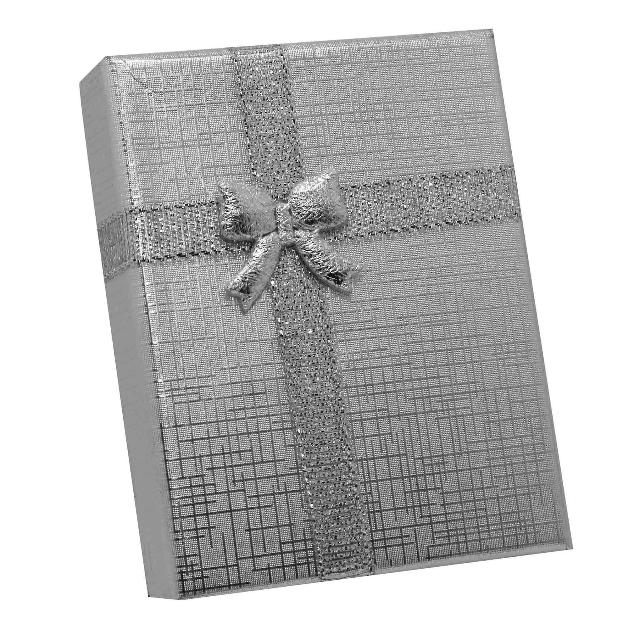 Caixa de Presente Média com Laço para Semijóias  - Lunozê Joias