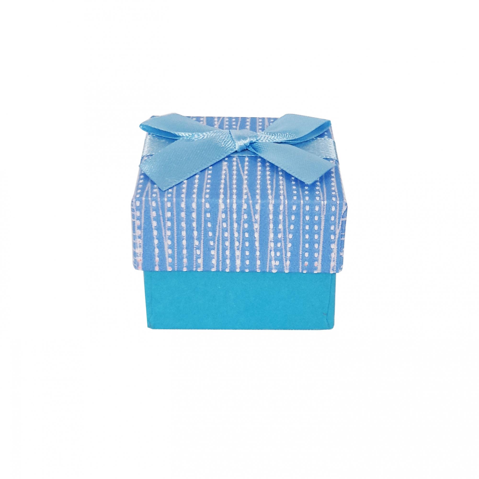 Caixa de Presente para Anel com Laço  - Lunozê Joias