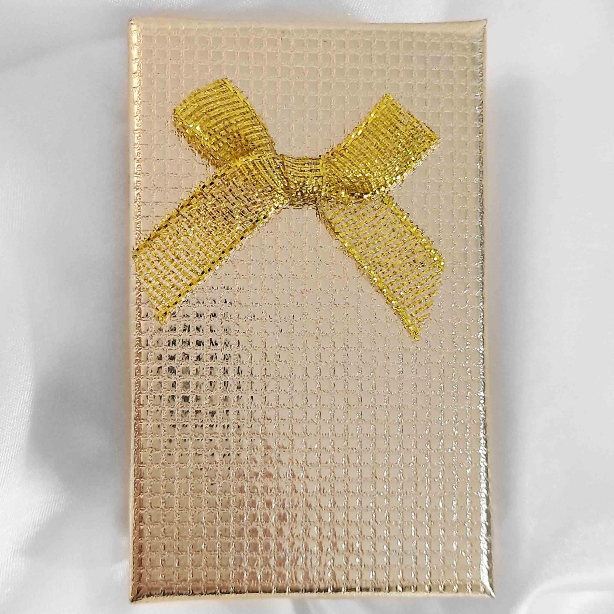 Conjunto Gota Pedra Lapidada Folheado a Ouro 18K + Caixa  - Lunozê Joias