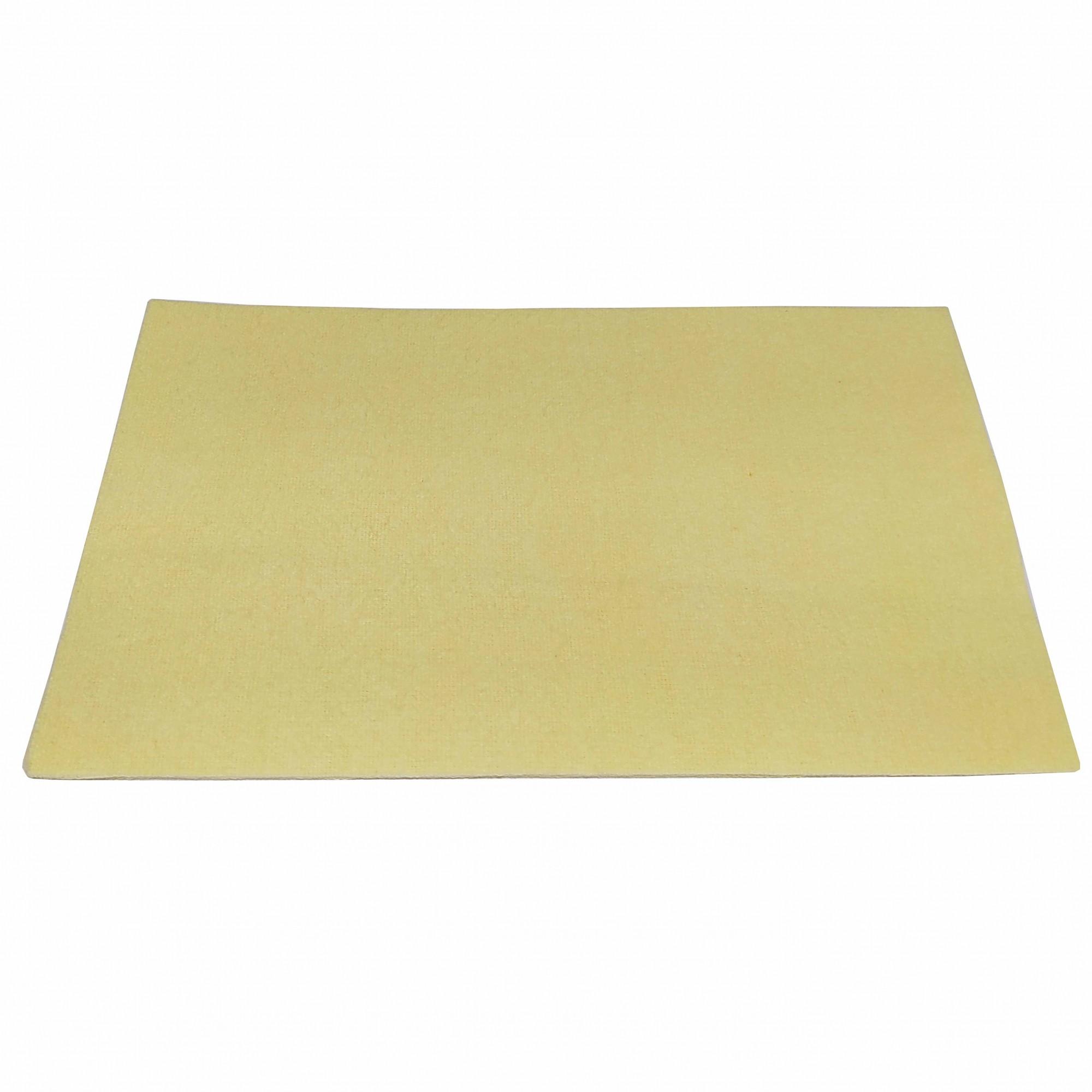 Flanela Mágica para Polimento Amarela - PCT c/ 3 UNID.  - Lunozê Joias
