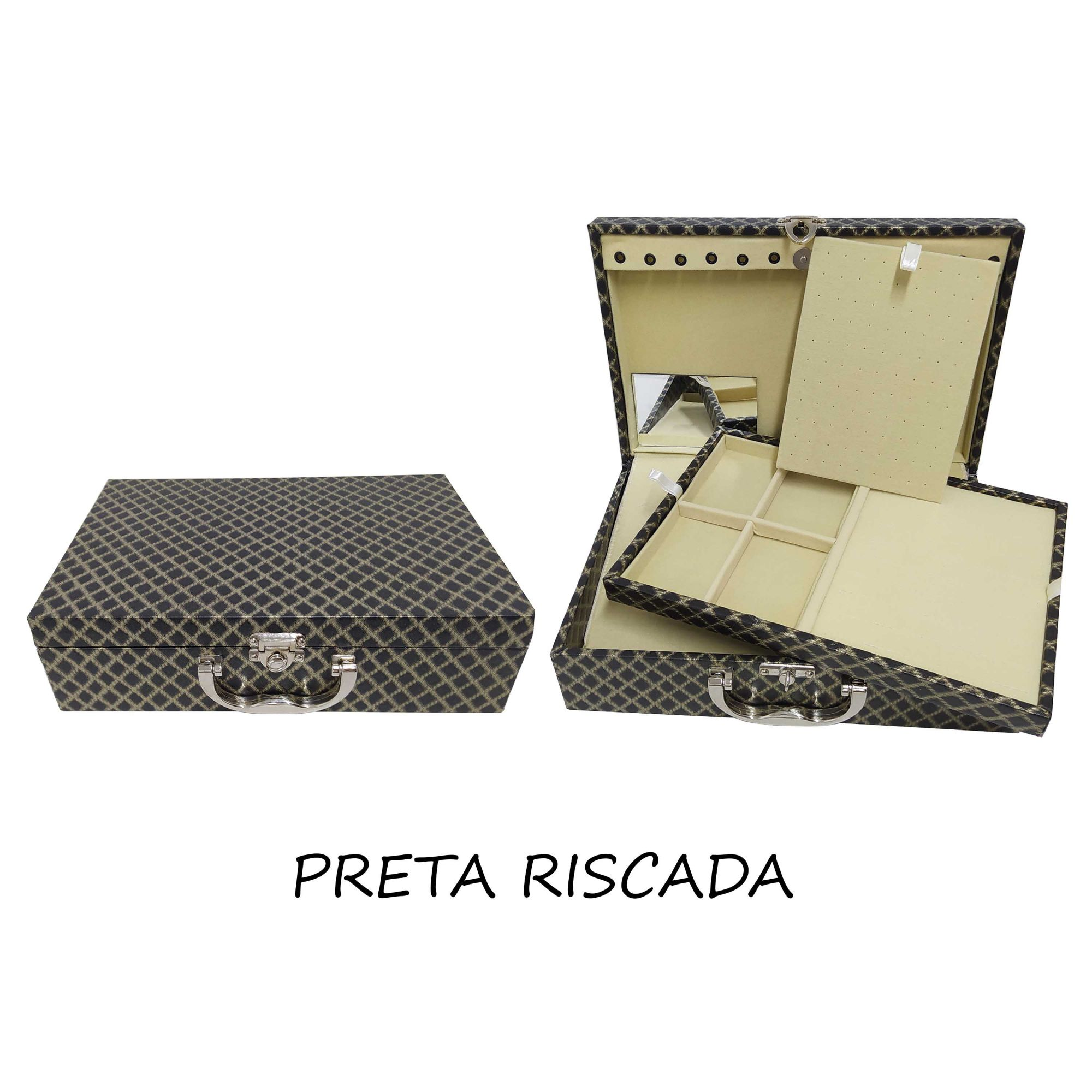 Joias Folheadas Kit 320 Peças+Maleta Atacado Revenda