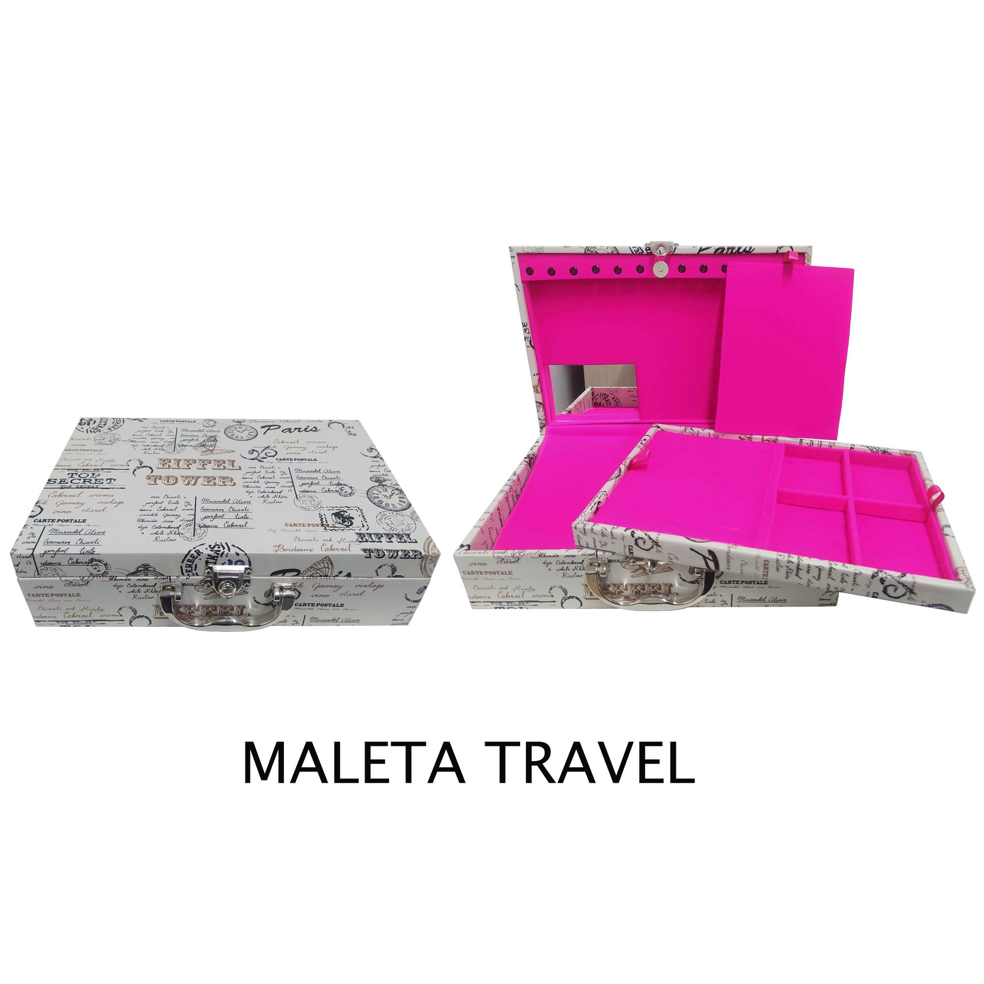 Maleta Vazia Texturizada Premium