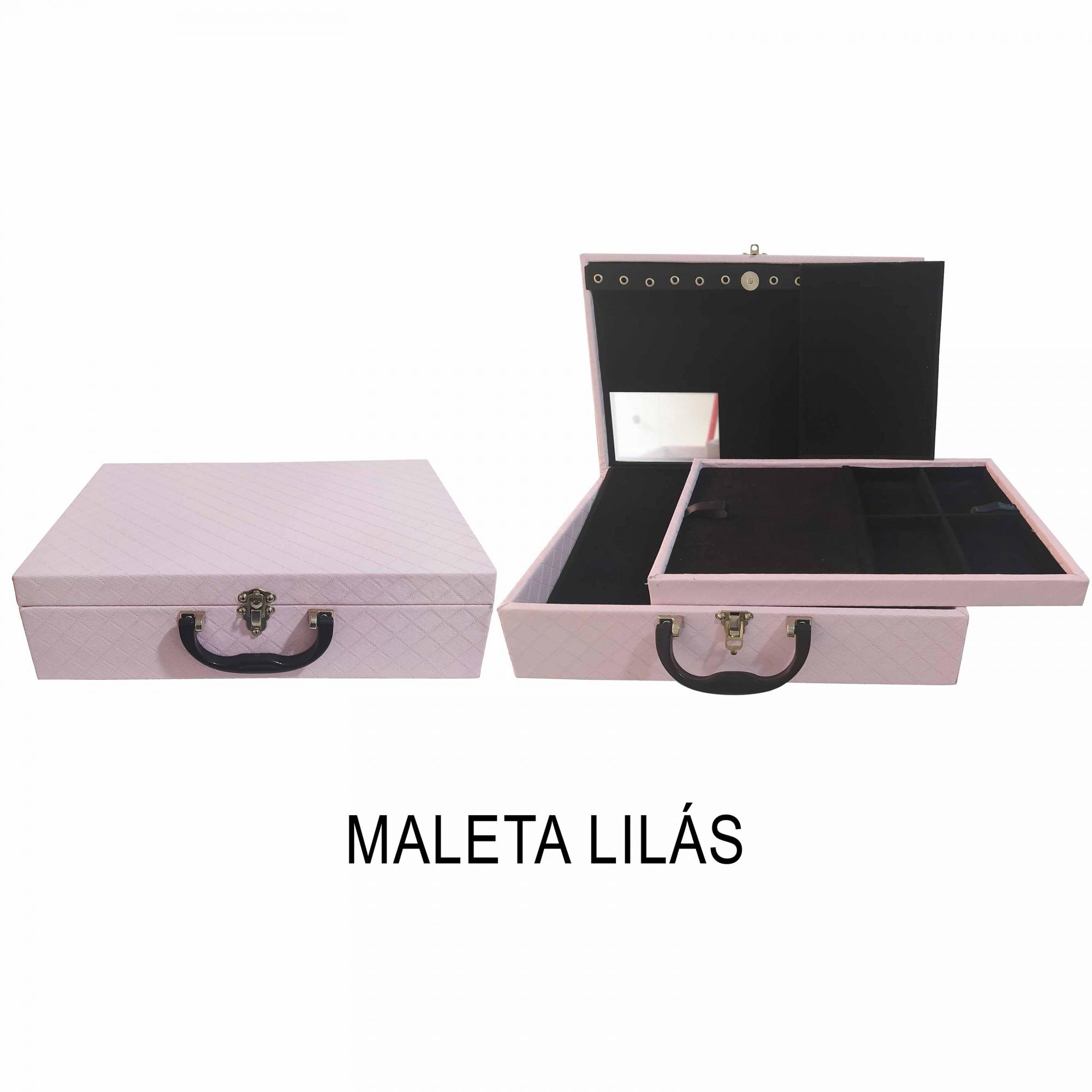 Maleta Vazia Texturizada Premium  - Lunozê Joias