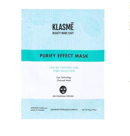 Máscara Facial Purify Effect - Detox Mask Klasmé  - Lunozê Joias