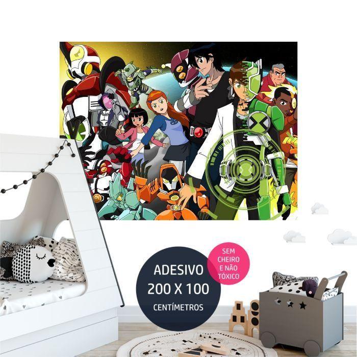 adesivo parede castelo 7 festa personalizada AP0540