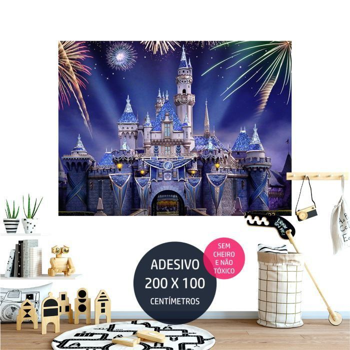 adesivo parede ever after high eah01 painel impresso AP0714