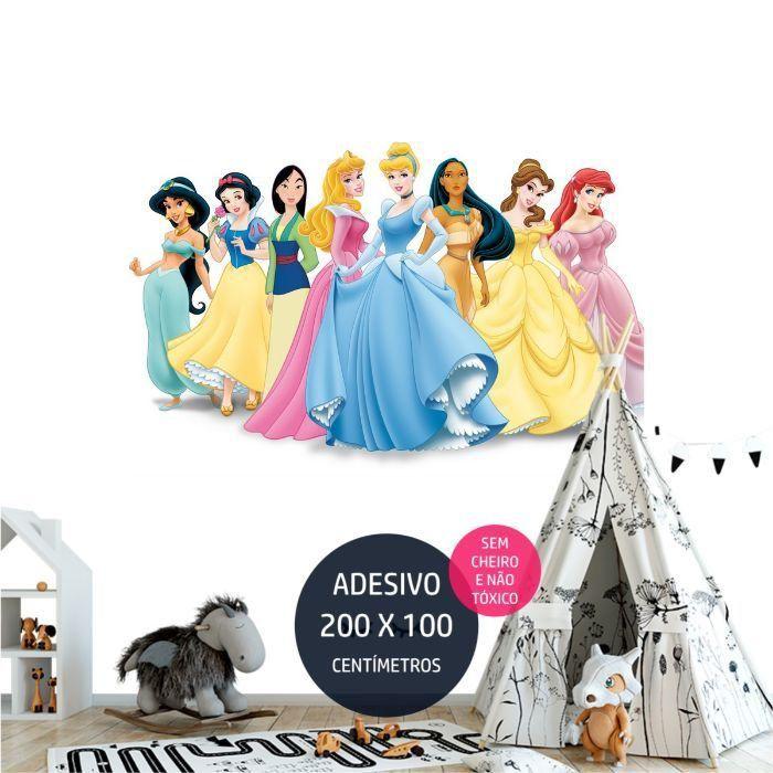adesivo parede frozen fz04 painel quarto festa infantil AP0795