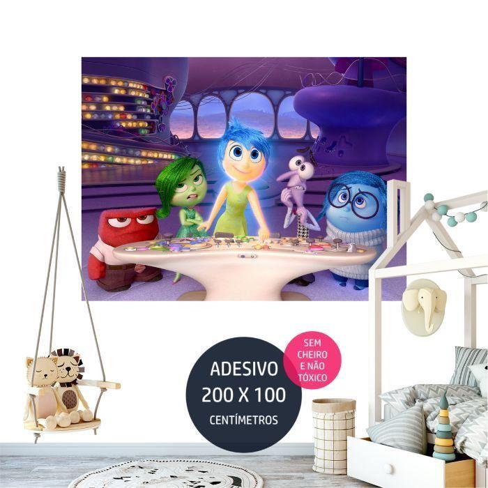 adesivo parede frozen fz10 painel infantil em quarto AP0801