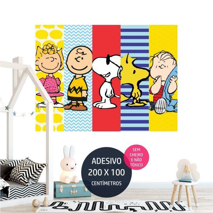 adesivo parede infantil snoopy 15 decoracao AP1004