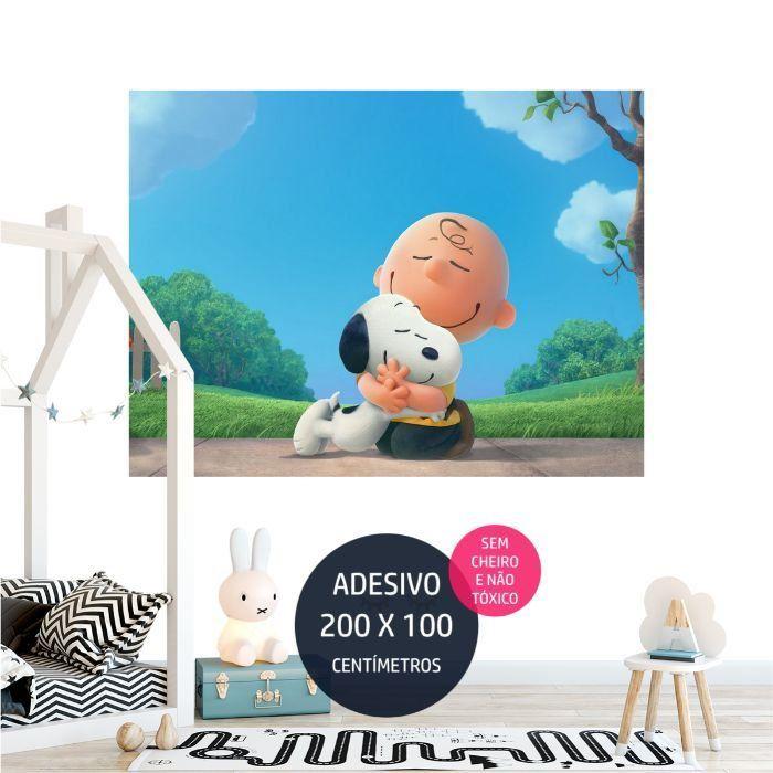 adesivo parede infantil snoopy 8 decoracao AP1017