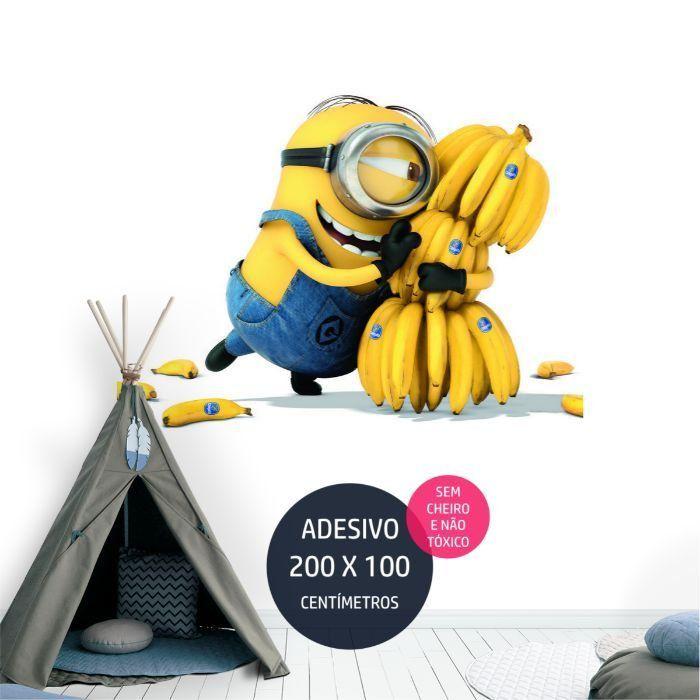 adesivo parede minions minions02 tema de festa infantil AP1354
