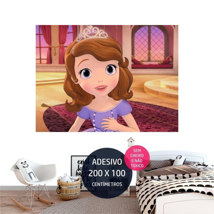 adesivo parede princesa sofia sofia0 painel digital AP1751