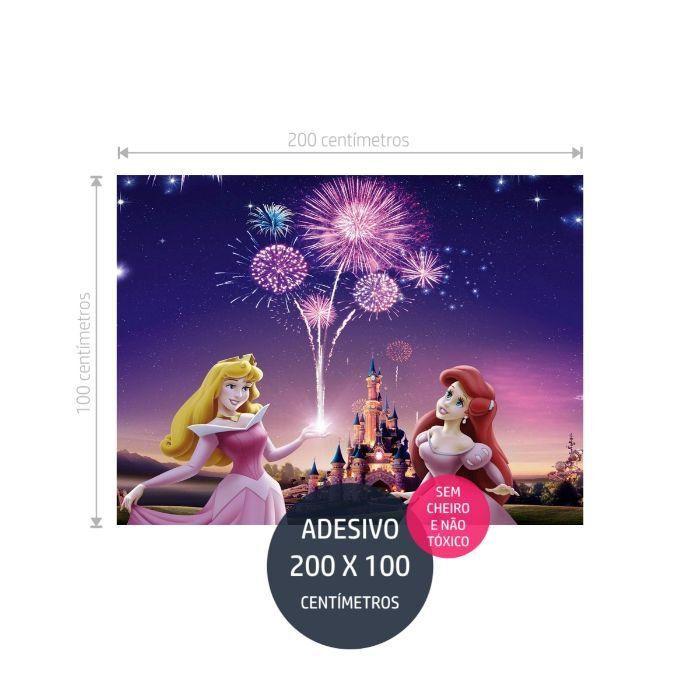 adesivo parede princesas disney 4 princesas AP1723