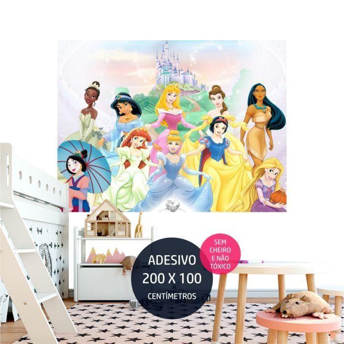 adesivo parede princesas disney 8 ariel AP1729