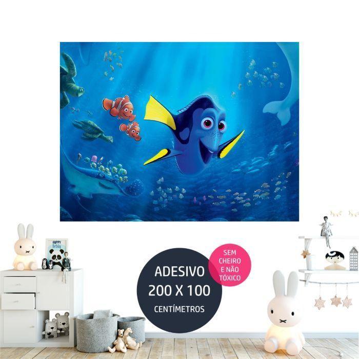 adesivo parede procurando dory dory03 painel digital AP1754