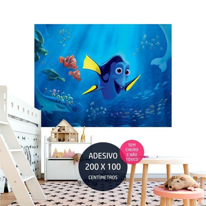 adesivo parede procurando dory dory03 painel digital AP1755