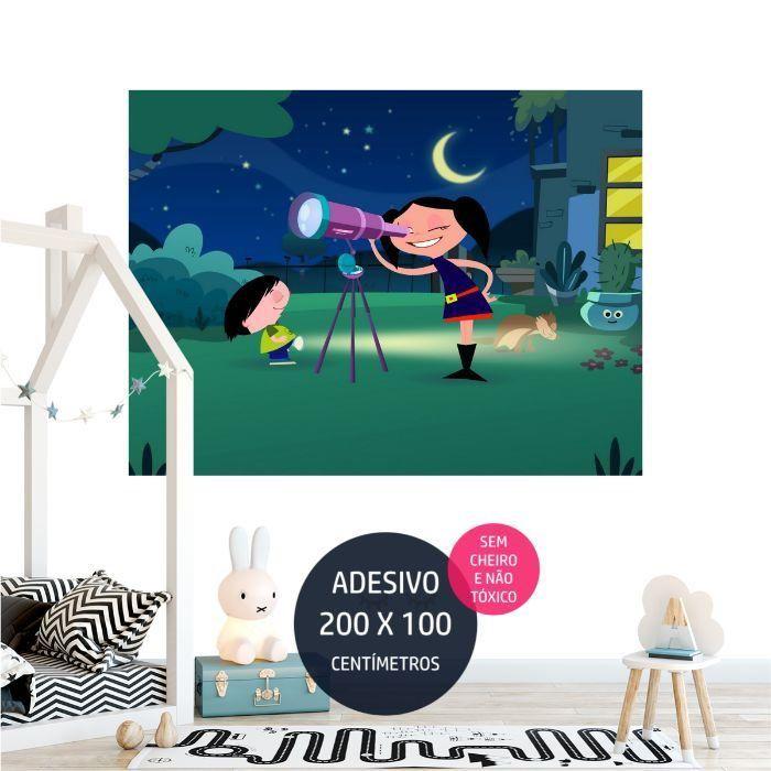 adesivo parede show da luna luna02 temas de festa infantil AP1771