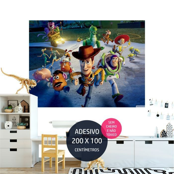 adesivo parede toy story toystory20 painel festa AP1869