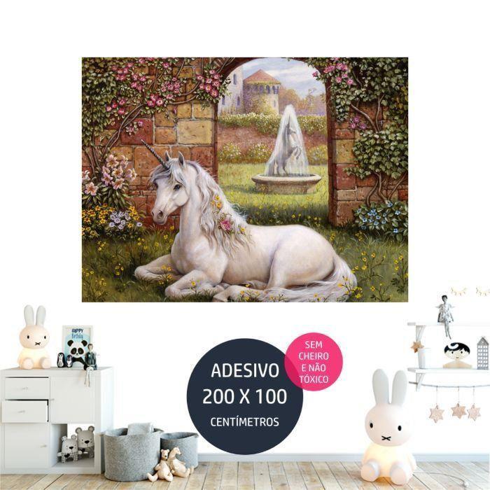 adesivo parede unicornio 2 unicornio AP1871