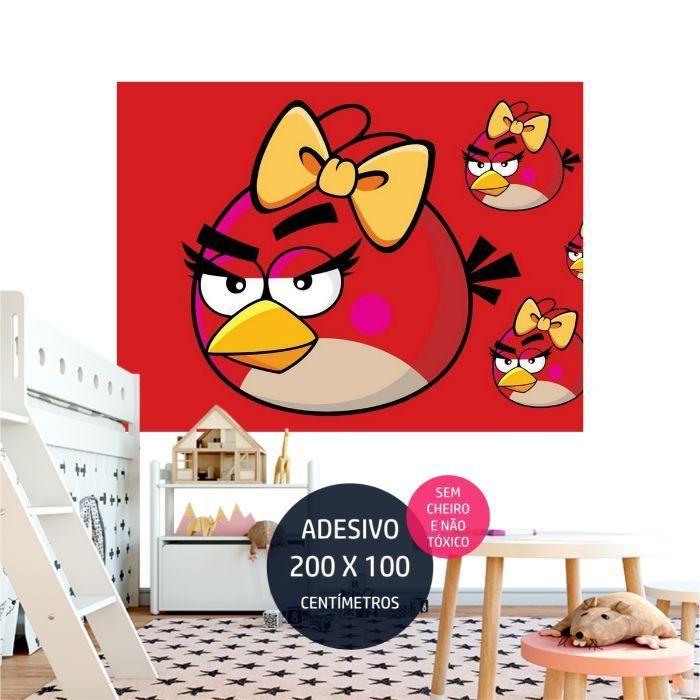 angrybirds adesivo parede festa infantil decoracao AP2002