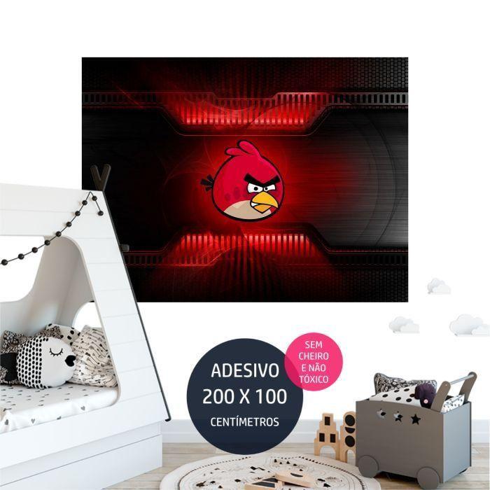 angrybirds adesivo parede quarto AP2022