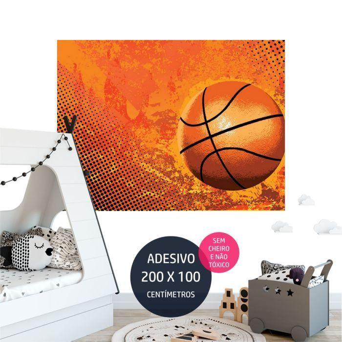 basquete adesivo parede adesivo parede infantil AP2178