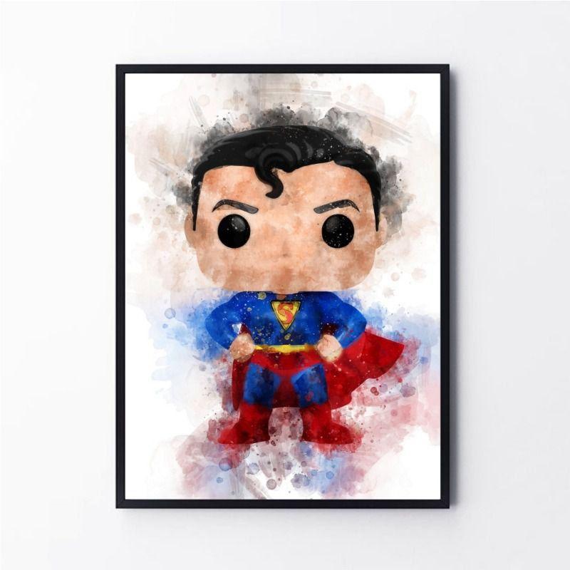 Desenho Super Herói Super Homem