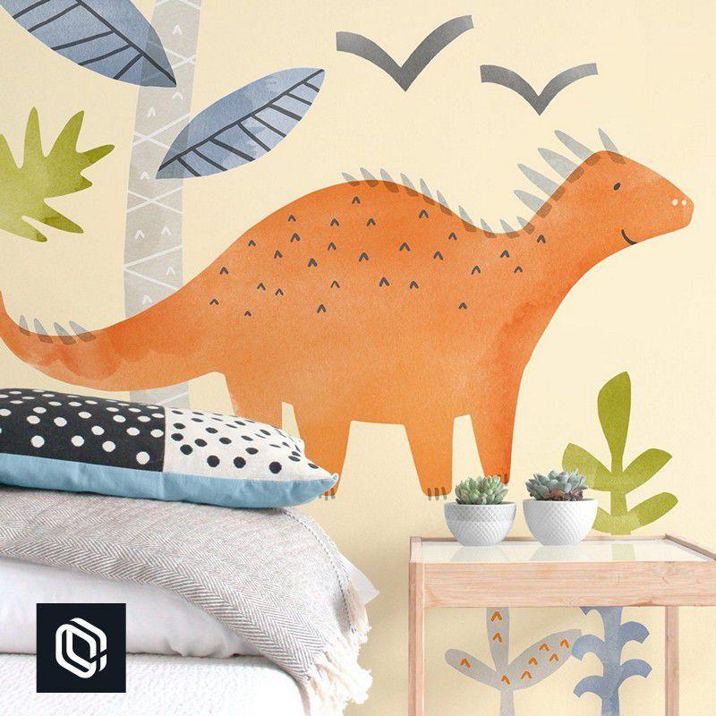 Adesivo de parede infantil dino safári dinossauro decoração
