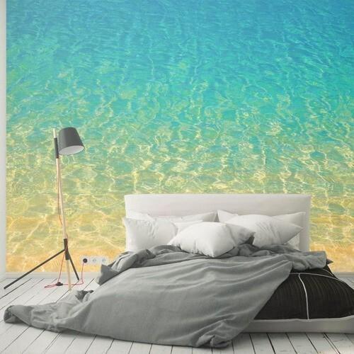 Papel de parede para sala quarto oceano água praia
