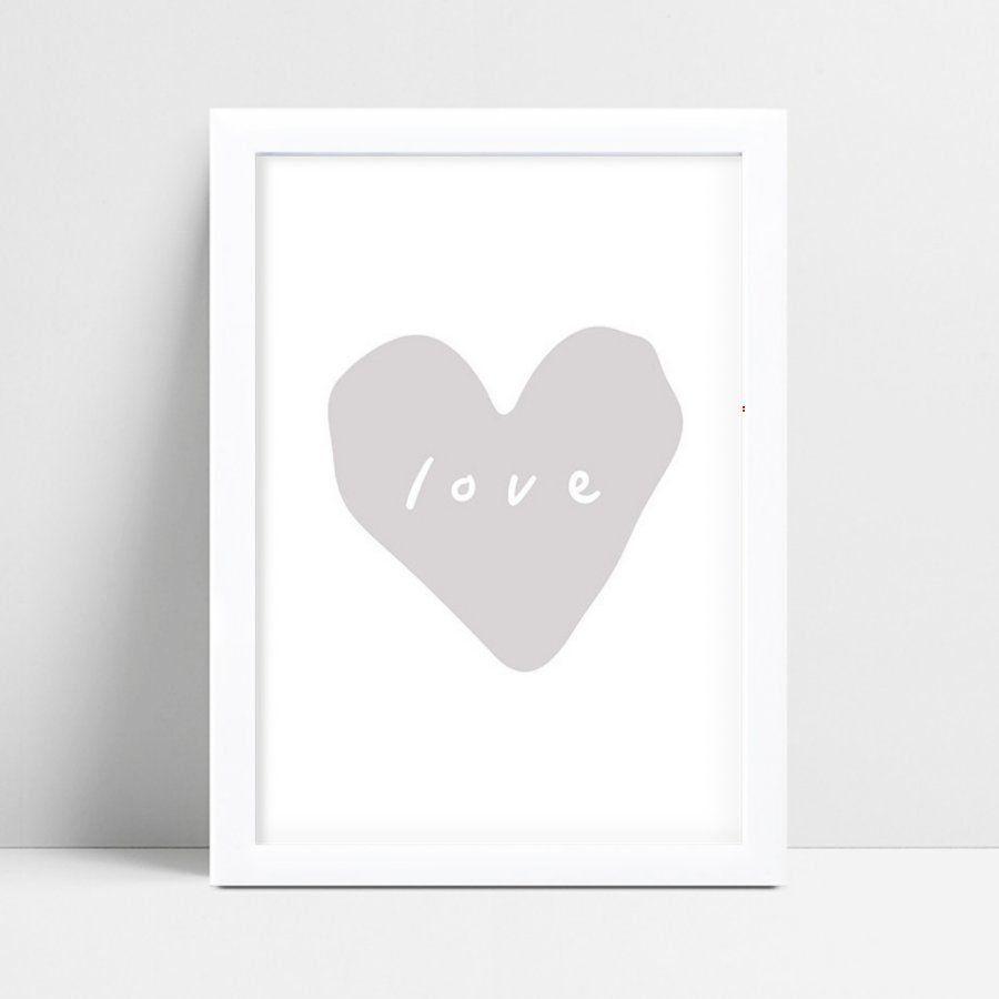 placa decoração de quarto infantil coração grande