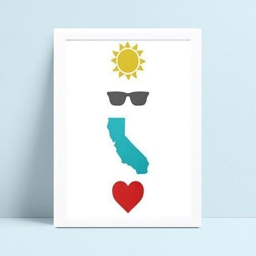 Placas Quadros Decorativos Infantil sol óculos coração mapa