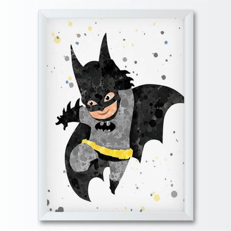 Quadro infantil Super Herói Batman
