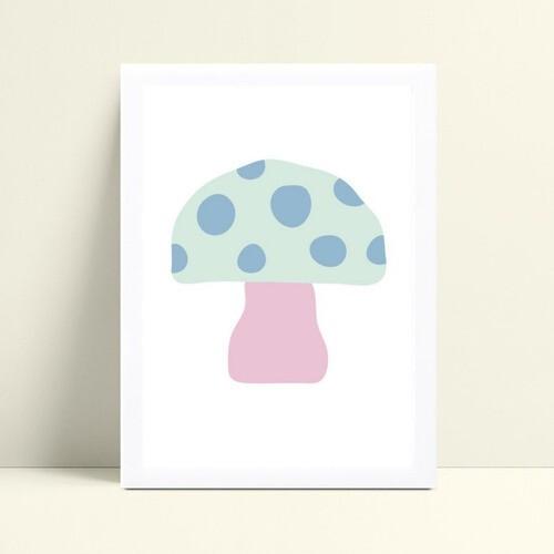 Quadro quadro decoração infantil menina cogumelo