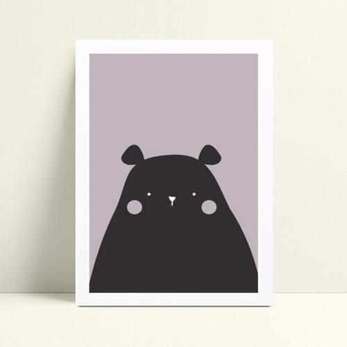 Quadro Quadro Decoração Infantil urso