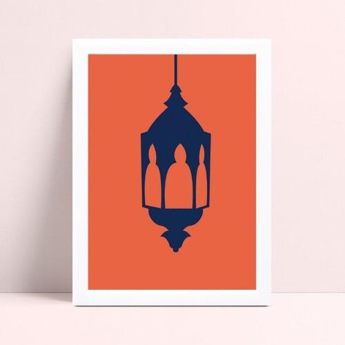 Quadro Quadro Decoração lanterna marroquina