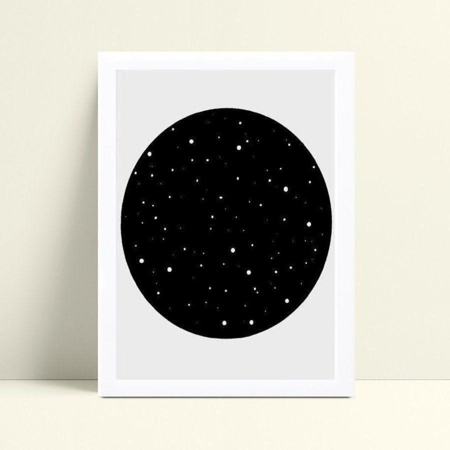 Quadro Quadro Infantil Menina Menino constelação
