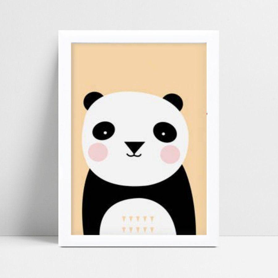 Quadro Quadro Infantil panda animal