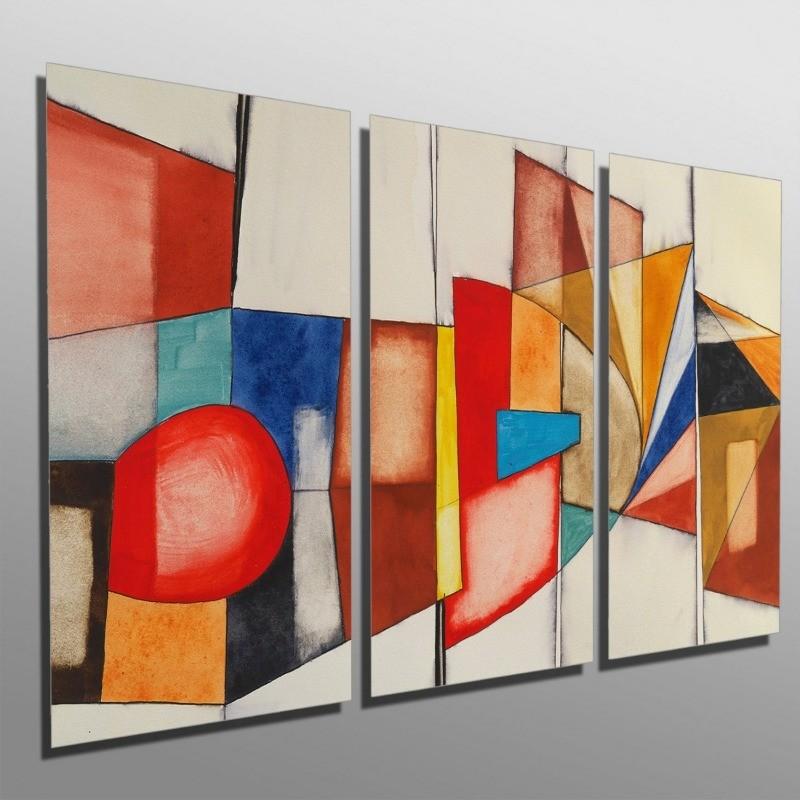 Quadros Decorativos Sala Quarto Abstrato