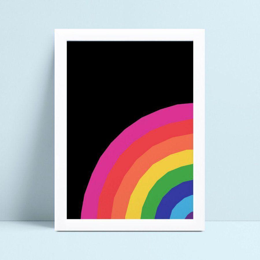 Quadros Quadros Decorativos Infantil arco-íris